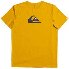 Quiksilver Comp Logo Maglietta a Maniche Corte Uomo, oro